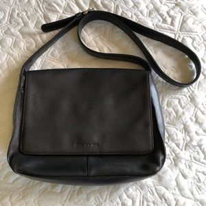 Jones New York Leather Crossbody Bag
